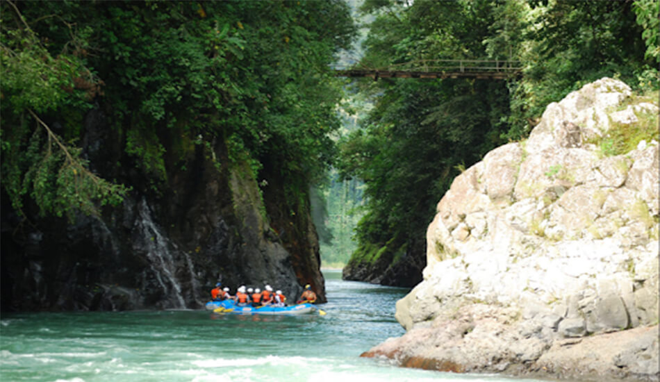 The Caribbean Costa Rica, White Water Rafting Pacuare River